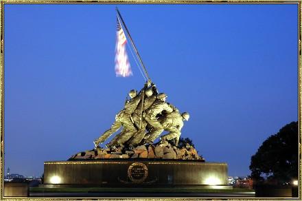 Iwo Jima Marine Statue