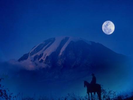 big wyoming sky with kilimanjaro graphic