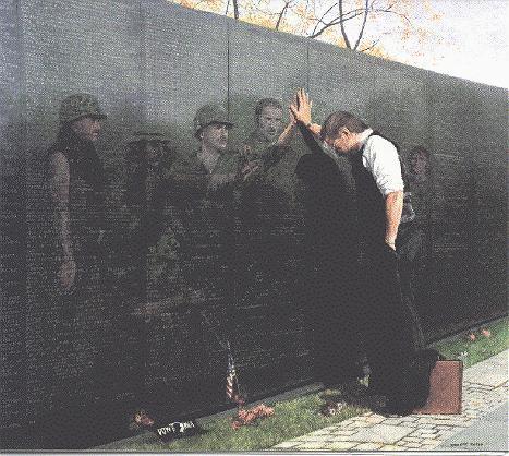 Reflections in GraniteA Poem on the Vietnam Veterans
